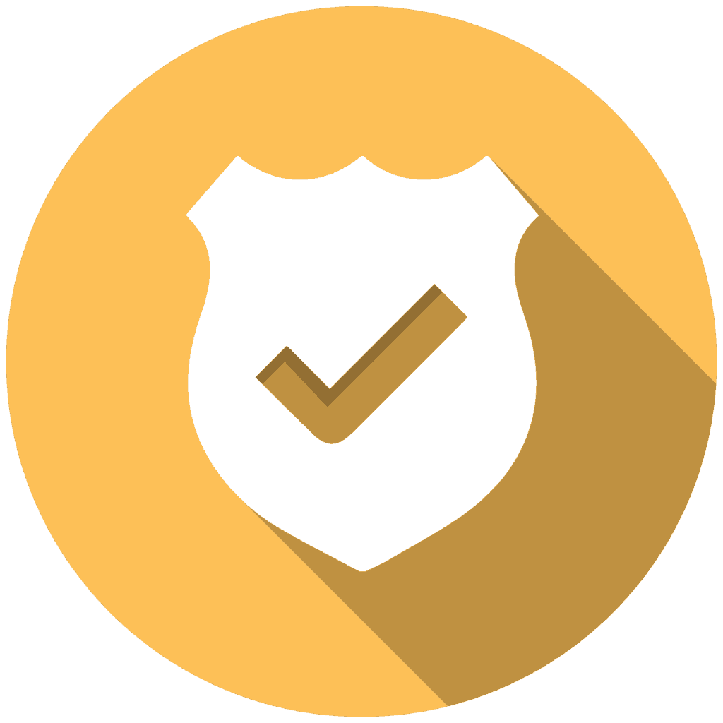 safety icon for website approval