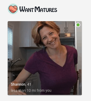 shannon user on wantmatures