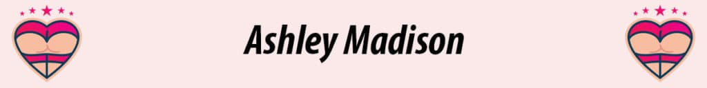ashley madison logo in pink