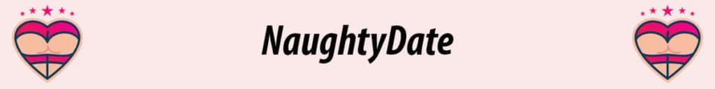 naughtydate logo in pink